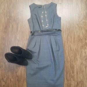 Jones New York Gray work dress